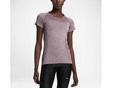 Women's Nike Knit Training Top, DRI FIT, 718569-533, XS, S, M, L, Purple Grape