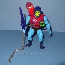 VINTAGE 1981 anni'80 MATTEL MOTU HE-MAN HEMAN DRAGON Blaster Skeletor ACTION FIGURE