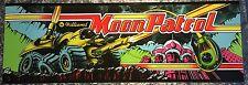 "Moon Patrol Arcade Marquee 23"" x 7.75"""