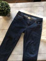 Vintage Woolrich Women's Size 8 Dark Wash 5 Pocket Classic Waist Jeans