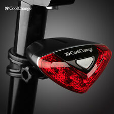 Cycling Bike Bicycle 5 LED Back Rear Tail Light Lamp Safety Flashing Warning Red