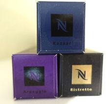 Nespresso Lot: 3 Sleeves 30 Coffee Capsules Kazaar, Arpeggio, Ristretto Mix