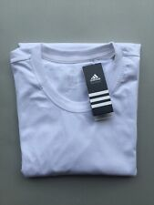 Adidas 100% Cotton White T-Shirt, Brand New With Tags, Size XXL