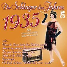 DIE SCHLAGER DES JAHRES 1935 2 CD NEUF