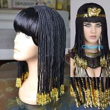 Egyptian Cleopatra Nightclub Show Costume Cosplay Party Wig Hair