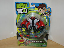 "NEW 2017 Ben 10 - Four Arms w/ Breakable Chain - 5"" Action Figure Playmates NIP"