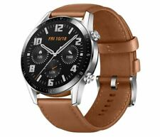 HUAWEI Watch GT2 46mm /BR Classic Pebble Brown Tracking Number NEW