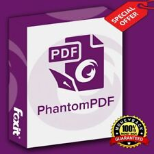 Foxit Phantom PDF 10 🔥 Foxit-PDF Software 🔥 Lifetime Activated ⚡ Fast Delivery