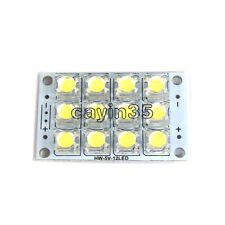 DC 3V-5V 12-LED Super Bright White Piranha LED board Night LED Lights Lamp UK