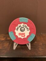 MGM Grand - $5 Casino Chip - *1st Issue* - Vintage - Las Vegas, N.V.