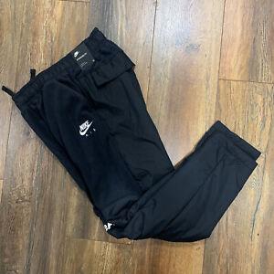Nike Air Winterized boys pants size L black/ white CW7291-010 Retail $70.00