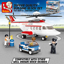 SLUBAN TOWN HELICOPTER - Leading Brand Compatible Brick Building Toy