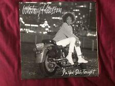Whitney Houston I'm Your Baby Tonight Vinyl Record LP