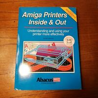 Amiga Printers Inside & Out. Abacus Book  #15 1990