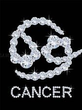 Diamond Zodiac Cancer Bling Vajazzle Horoscope photo Art Imprimé Poster bmp340a