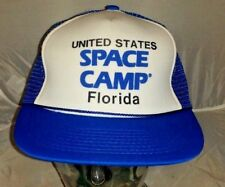 Vintage United States Space Camp Florida  Trucker Hat Cap A2