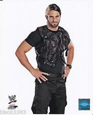 Seth Rollins Brand New WWE Superstar 8x10 photo Shield Gear