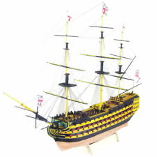 "1:200 HMS Victory1765 Western 21"" Wooden Sailboat British Royal Navy Ship model"