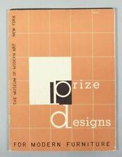 Kaufmann Edgar Prize designs for modern furniture MOMA