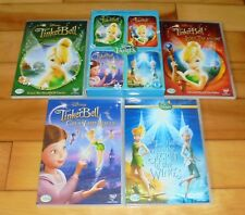 Tinker Bell 1-4 Collection (DVD, 2013, 4-Disc Set, Box Set) 4 Magic Fairy Movies