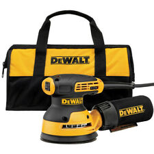 DEWALT 5 in. Variable Speed Random Orbital Sander w/ Pad & Bag DWE6423K New