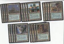 20 Tri Land Lot - Homelands  - Played - 4x of each - Sets - Magic MTG FTG