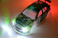 RC LED Light Set for Traxxas Ford Fiest Ken Block Rally Car- Universal Fit #41
