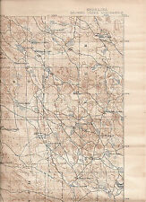 1899(1943) Browns Creek, Nebraska USGS Topographic Map
