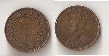 Canada 1 cent 1911