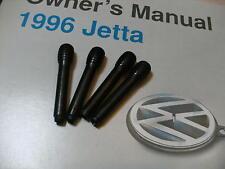 Door Lock Pin Knobs VW Jetta Golf Set of 4 Genuine OE Volkswagen 93-99 MK3 set