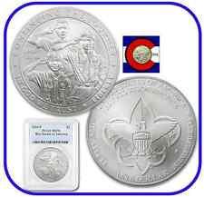 2010 P Boy Scouts of America Silver Dollar $1 Commemorative Coin PCGS MS-70