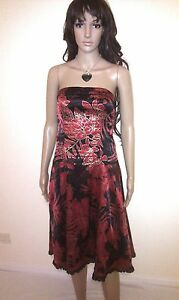 JANE NORMAN Strapless Dress.   Evening, Wedding, Prom, Cocktail Party.   SIZE 12