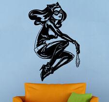Catwoman Wall Decal Vinyl Sticker Comics Superhero Atr Home Wall Decor (004cw)