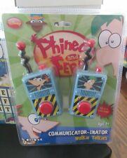 Phineas & Ferb Communicator-inator Walkie Talkies NEW IN PACKAGE