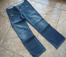 TH0442 Diesel Industry Denim Damen Stretch Jeans Leder JUNNIE Blau W30 L30 TOP