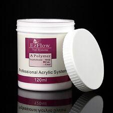 120ml Acrylic Crystal Nail Powder Builder Manicure Nail Art Tips Polymer Pink