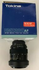Tokina EMZ280AF 28-80mm F3.5-5.6 Macro Lens For Nikon Mount- Brand New in Box