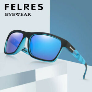 Men Women Polarized Sport Sunglasses Outdoor Riding Driving Square Glasses