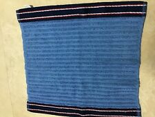 TOMMY HILFIGER WASHCLOTH BLUE  NAVY 13 X 13  RETAIL-$12  NWT
