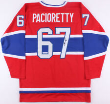 Max Pacioretty Signed Canadiens Jersey (JSA Hologram) Ready for Framing