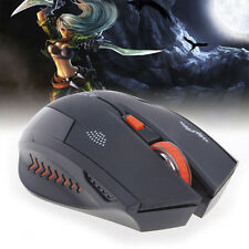 2.4GHz 2400DPI USB Wireless Silent Mute Button Gaming Mouse Mice For PC Laptop