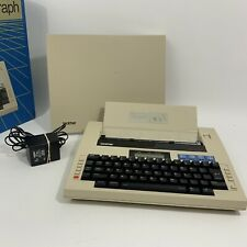 Brother Type-A-Graph Typewriter BP-30 Vintage With AC Power Adapter