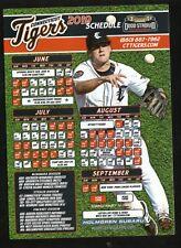 Connecticut Tigers--2019 Magnet Schedule--Holmgren Subaru--New York-Penn League