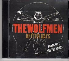 (EY46) The Wolfmen, Better Days - DJ CD