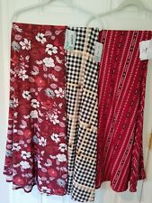LuLaRoe Maxi Skirts, lot of 3, New with tags, 2XL, Awesome prints