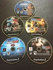 WWE SmackDown Vs. Raw 2006, 2008, 2009, 2010 & Shut Your PS2 LOT!