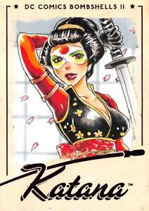 KATANA / DC Comics Bombshells II 2 (2018) BASE Trading Card #43