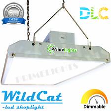 LED Shop Light 5000k Daylight Utility Ceiling Light Hanging Fixture Garage DLC