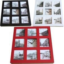 Horloges murales en cadre photo pour la maison