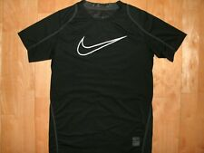 NIKE PRO Youth Kids DRI-FIT Athletic FITTED Sport Fitness Black Shirt Large L